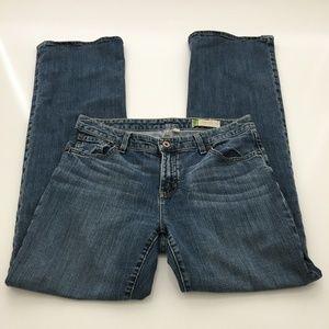 Gap Essential Denim Straight Leg Jeans Size 6L